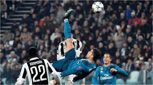 Cristiano Ronaldo's Overhead Goal