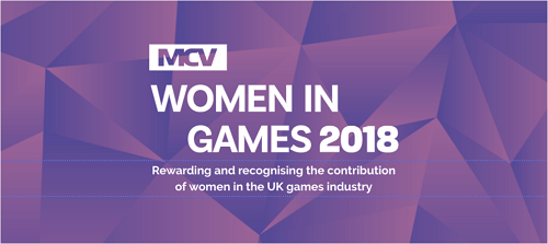 Women in Gaming Diversity Awards 2018