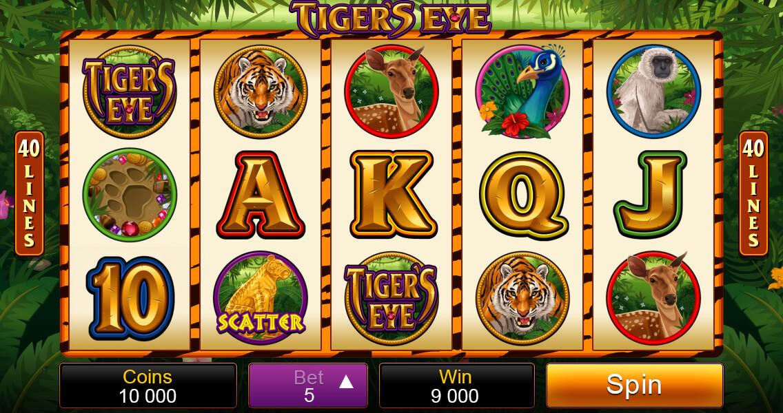 Tiger's Eye Base Game Screenshot