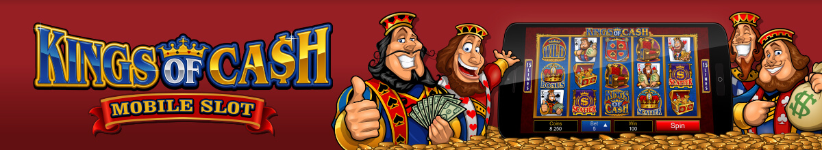Kings of Cash Pokies Graphic