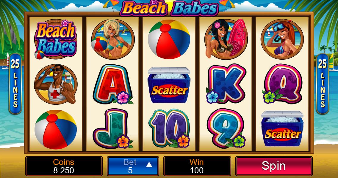 Beach Babes free spins