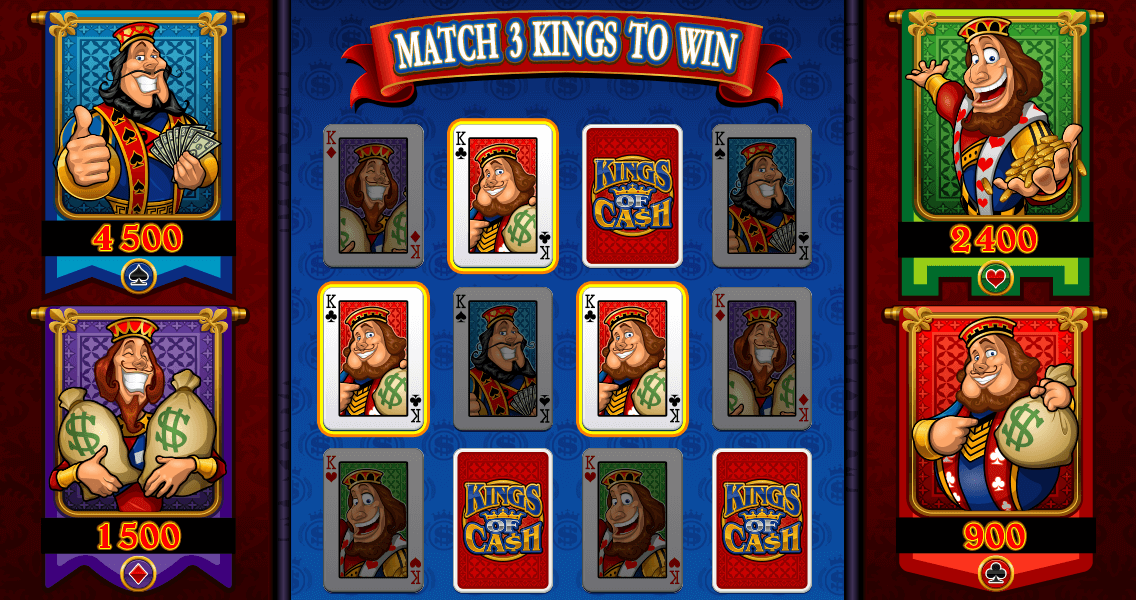 Kings Of Cash online pokies