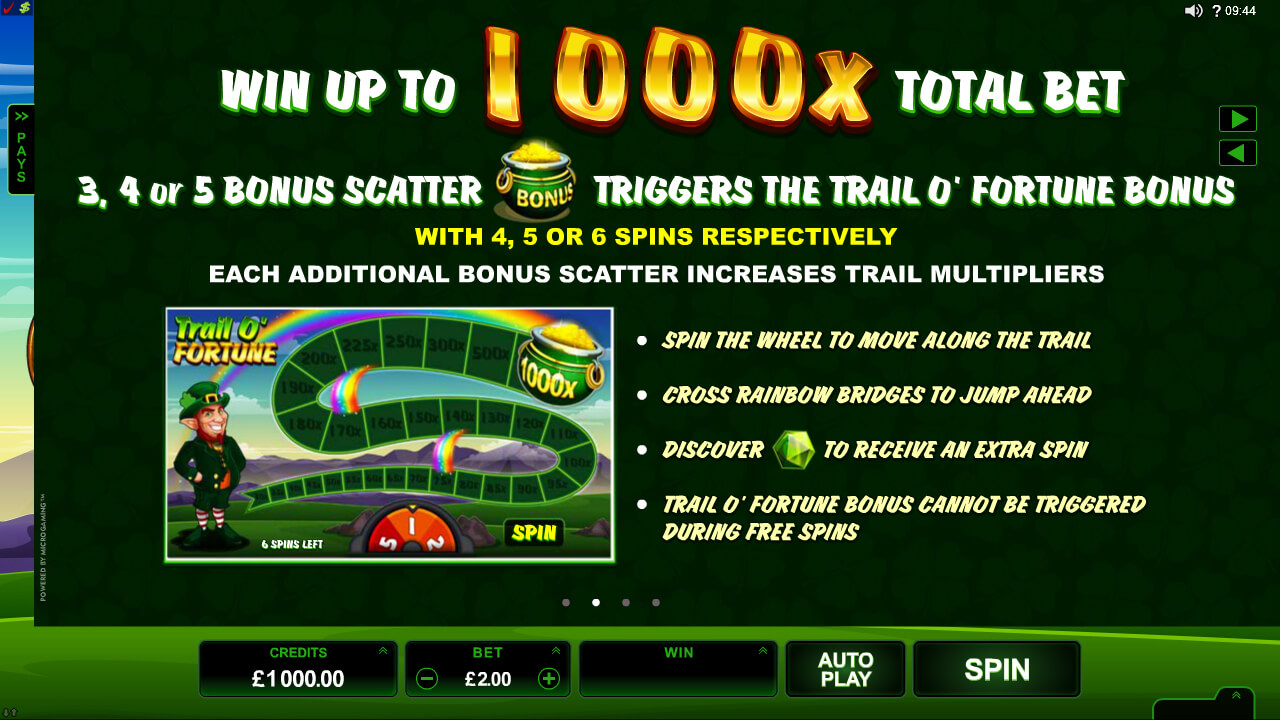 Play Leprechaun's Luck Pokies at Casino.com Australia