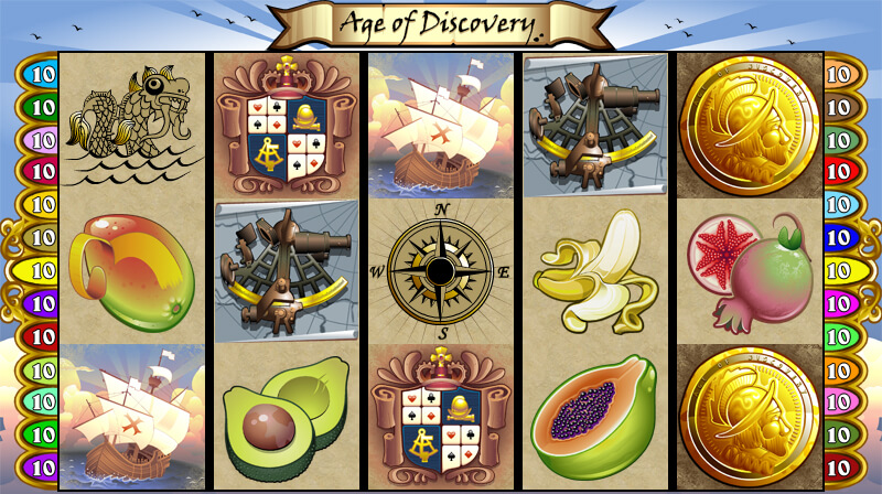 Age of Discovery Mobile Pokies