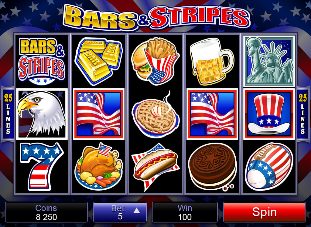 Bars & Stripes Online Pokies