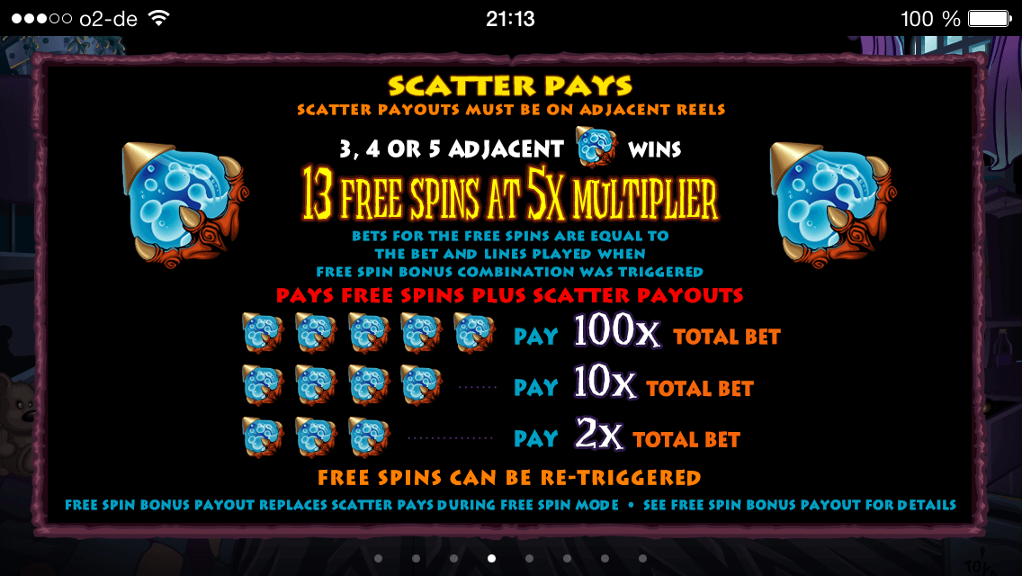 Boogie Monsters Scatter Pays