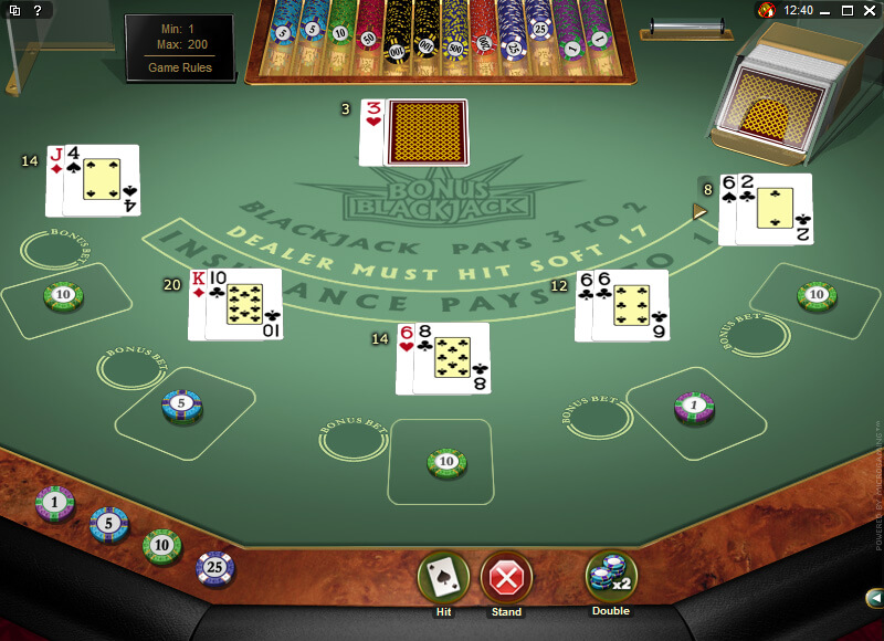 Bonus Online Blackjack