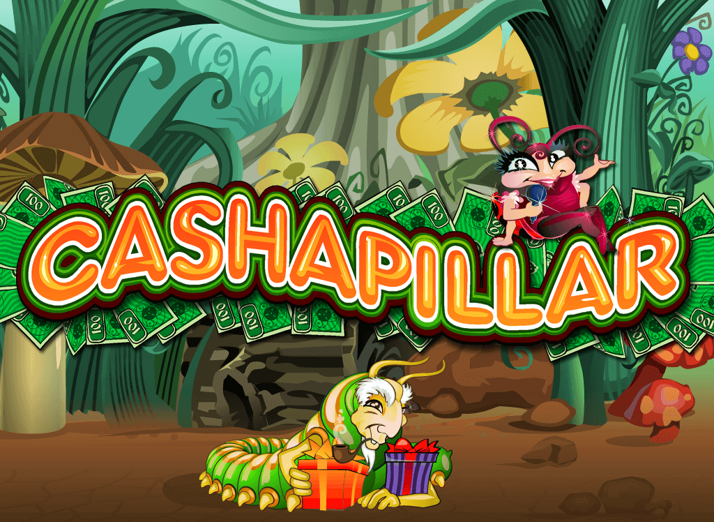Cashapillar online pokie game