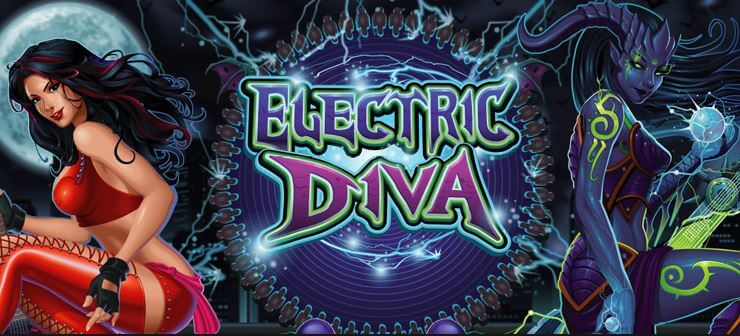 Electric Diva online pokie game