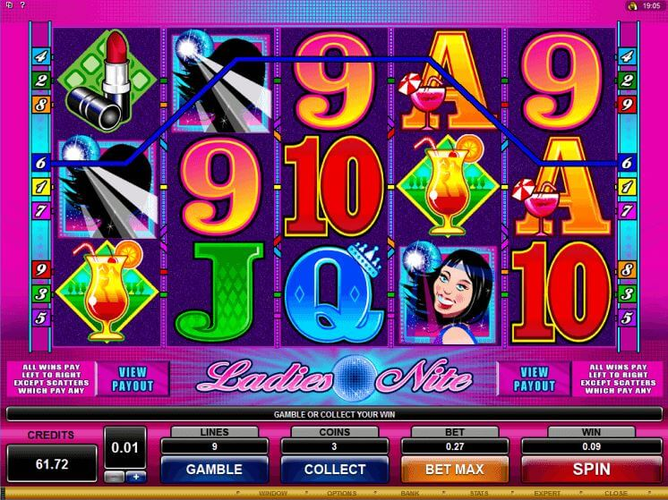 ladies-nite-online-pokie-game