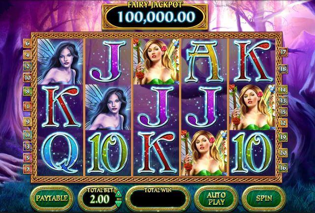 Fairy Ring Five Reel jackpot