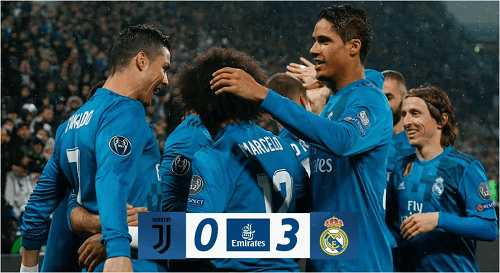 Real Madrid's Victory against Juventus