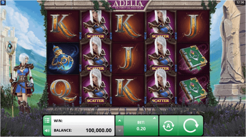Features of Adelia the Fortune Wielder