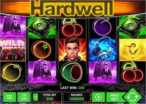 DJ Hardwell Pokie