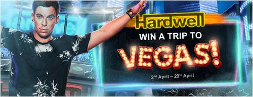 DJ Hardwell Pokie trip to Vegas