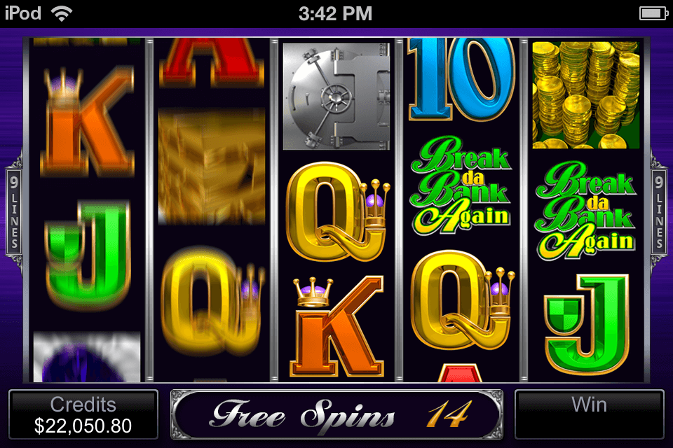 Break da Bank Again - Free Spins