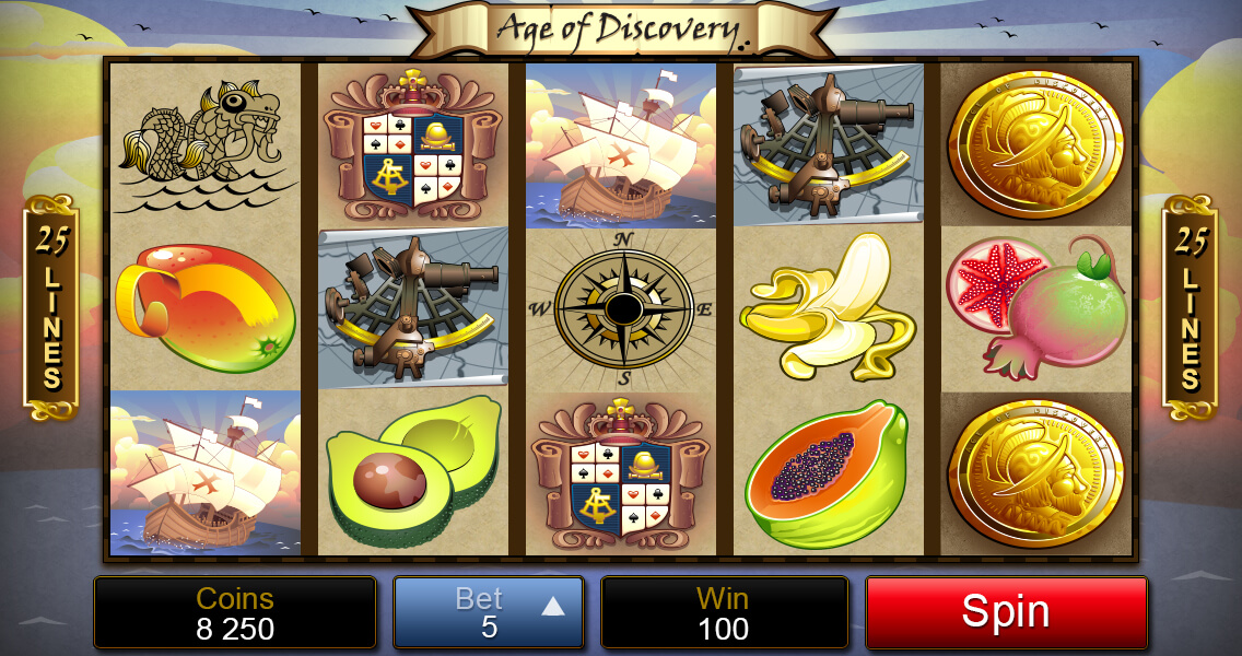 Age of Discovery pokie game