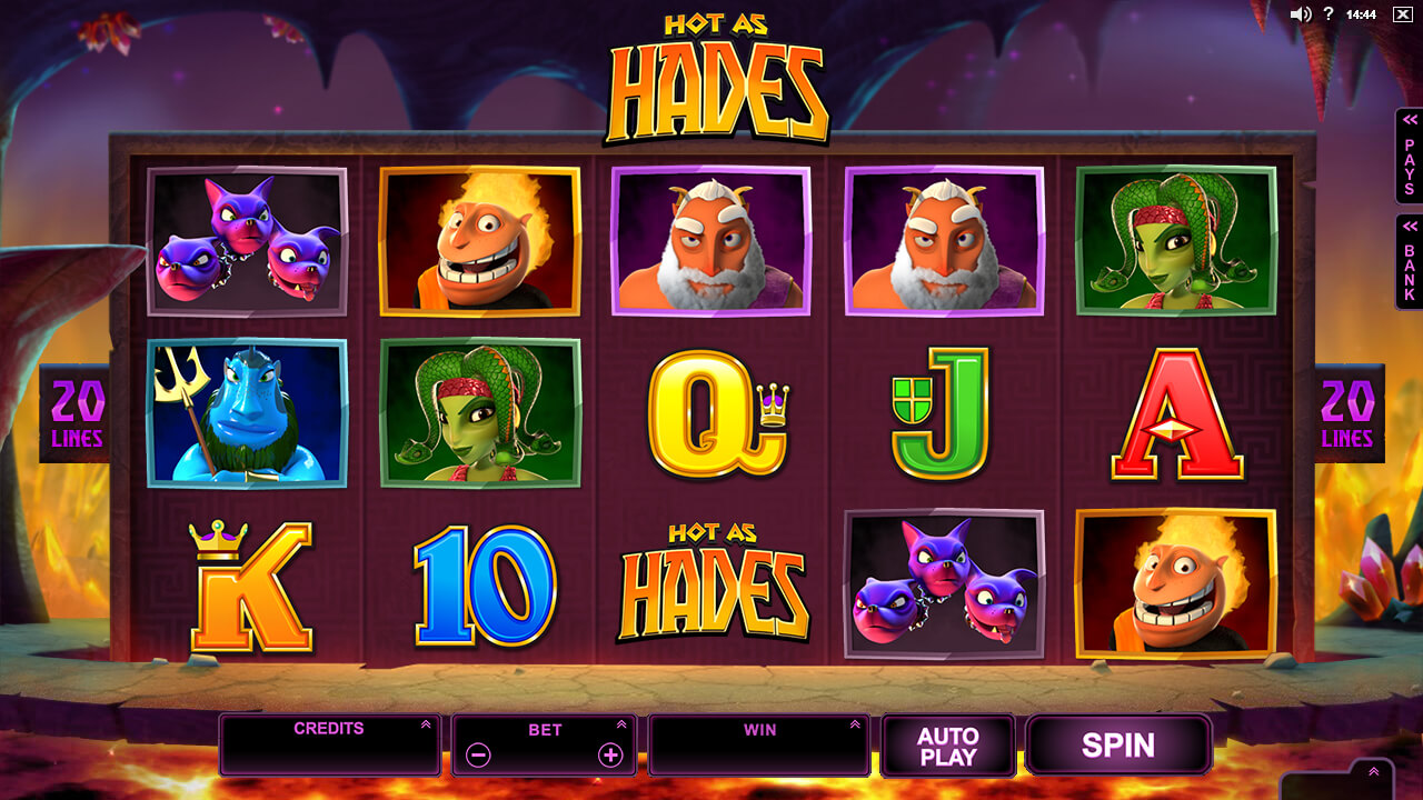 Hot As Hades BaseGame screenshot