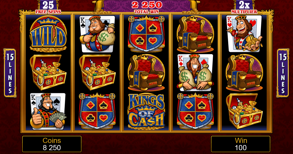 Kings of Cash Mobile Pokies