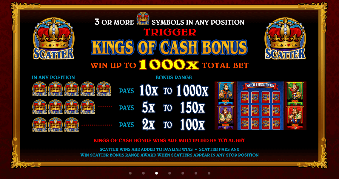 Kings of Cash Bonus
