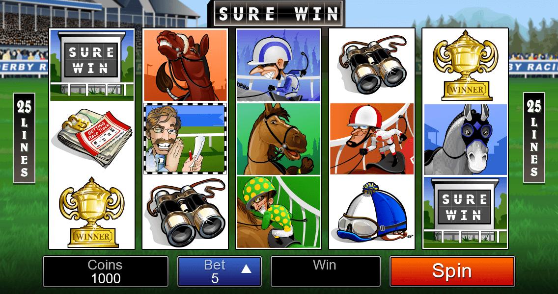 Sure Win Base Game Screenshot - Video Pokies