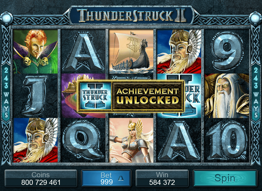 Thunderstruck II Online Video Pokie