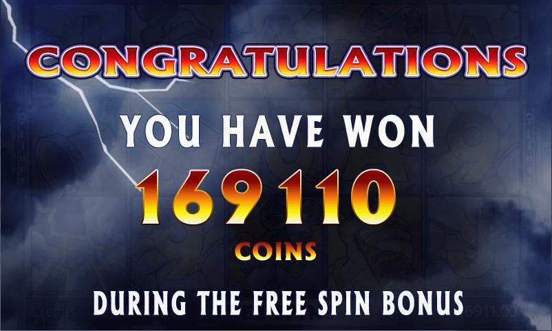 Thunderstruck - Free Spins