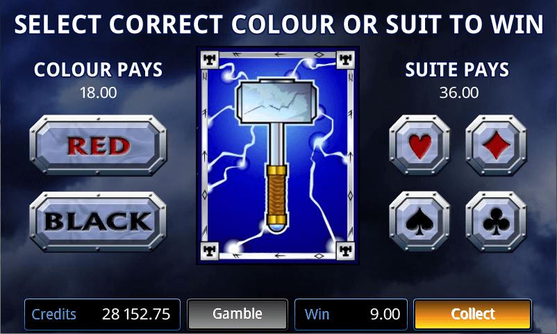 Thunderstruck - Gamble Feature