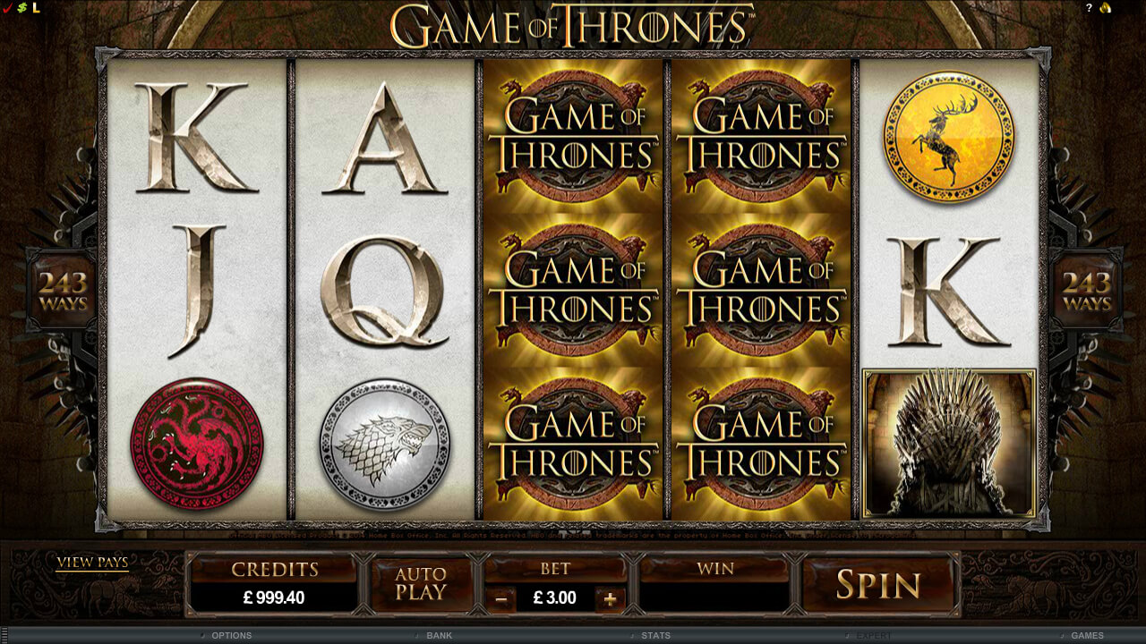Game Of Thrones Base Game