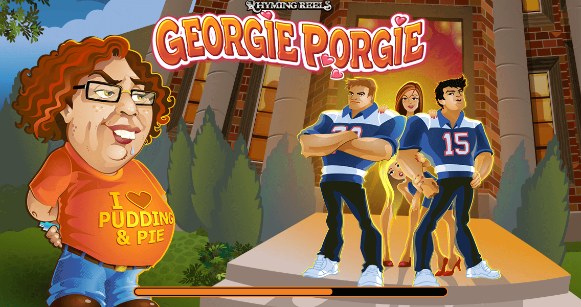 Rhyming Reels Georgie Porgie Video Pokies