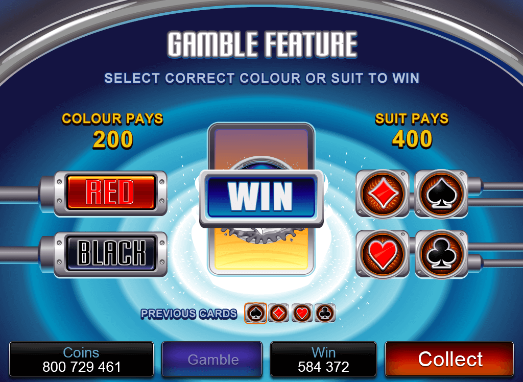 Pure Platinum Gamble Feature