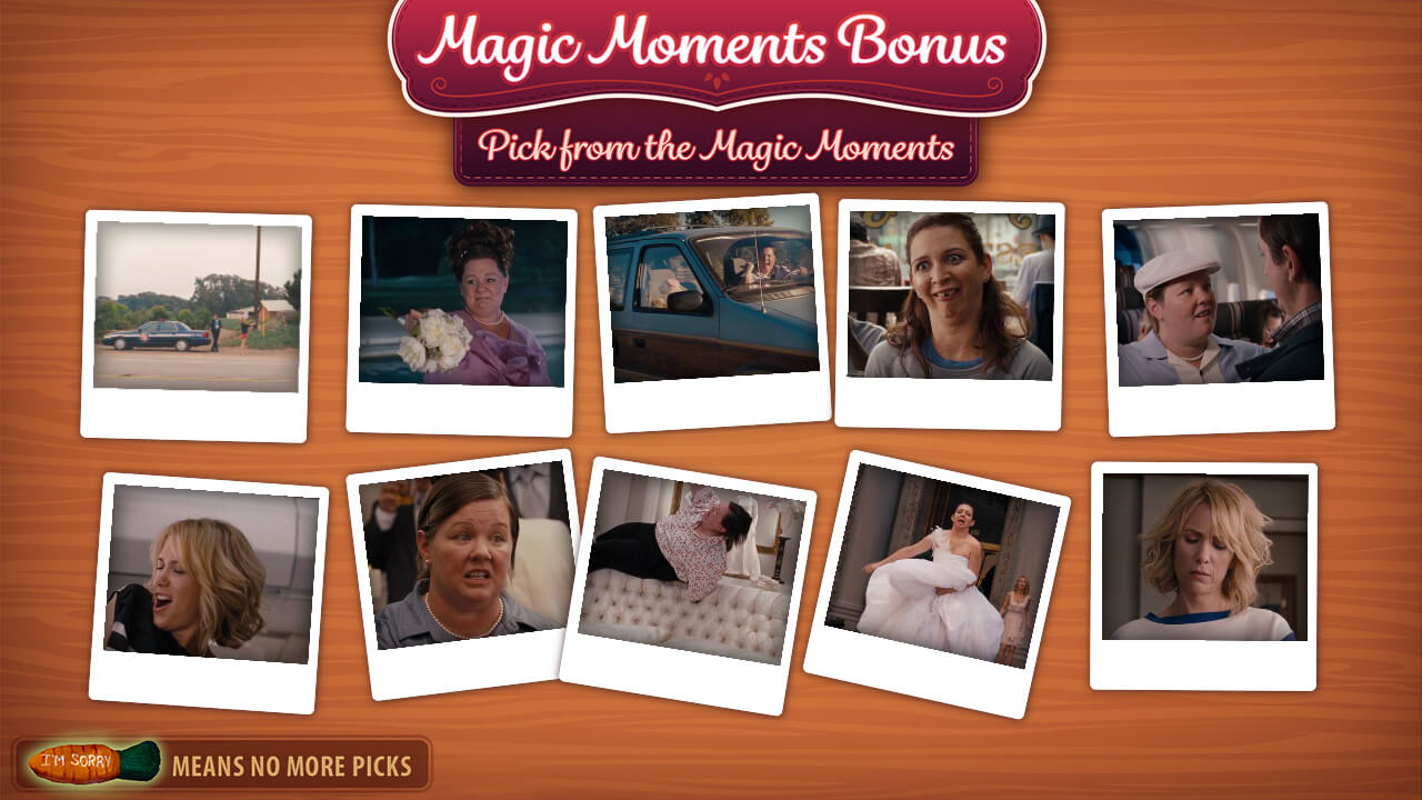 Bridesmaids - Magic Moments Bonus