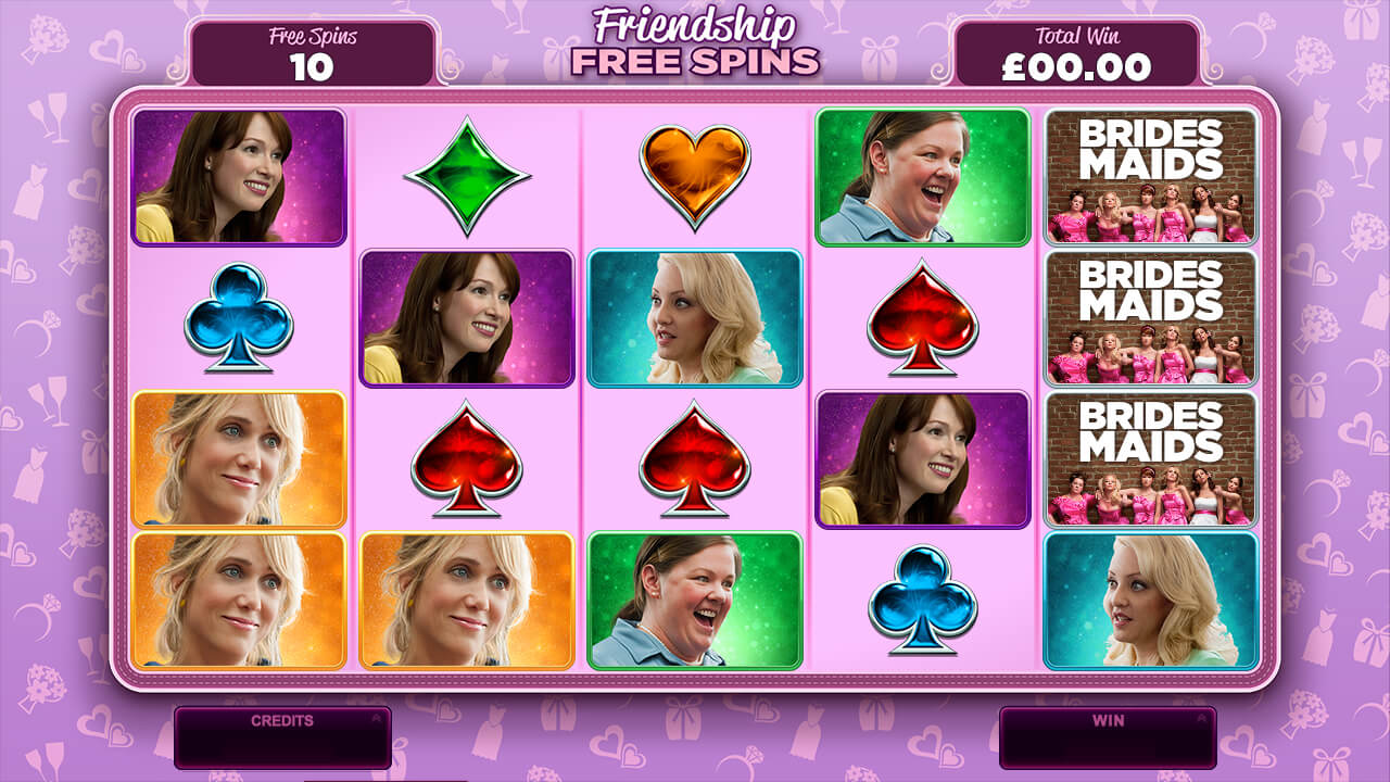 Friendship Free Spins - Bridesmaids