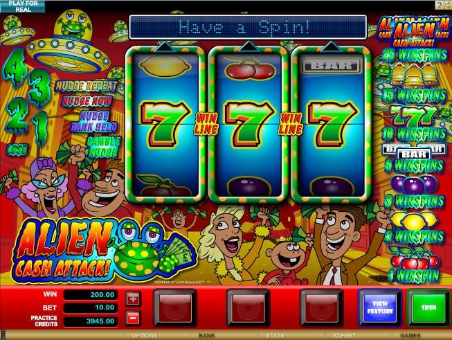 Play Alien Hunter Online Pokies at Casino.com Australia
