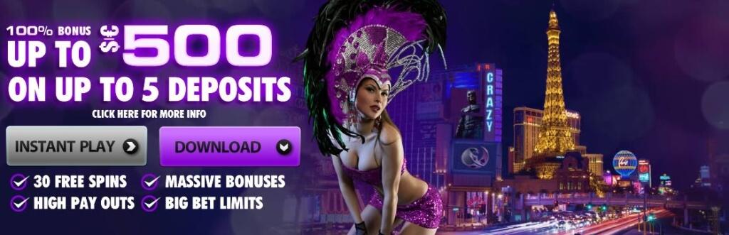 Crazy Vegas Online Casino