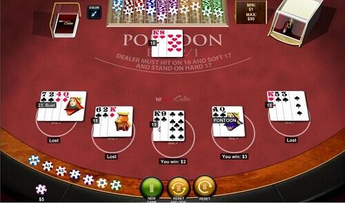 online blackjack gameplay Australia