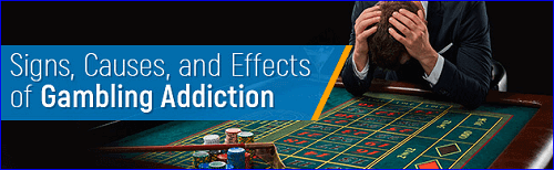 signs of addicted gamblers